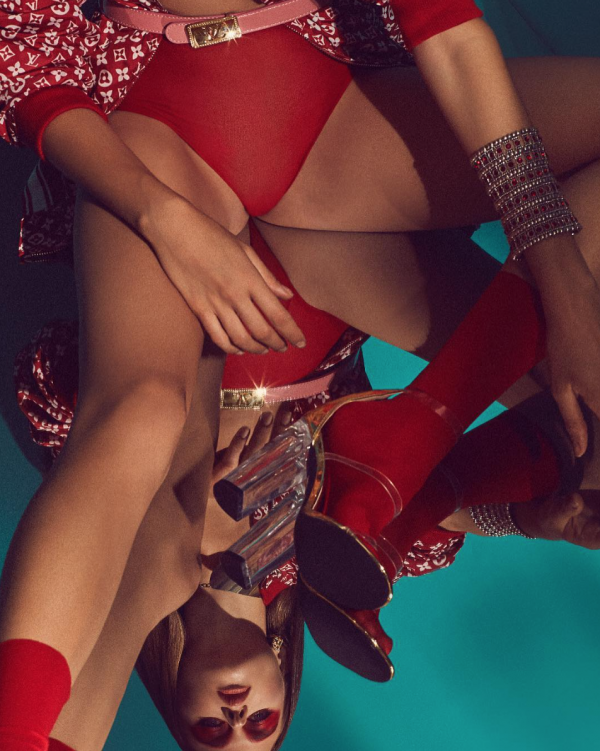 RED / BEHIND – FASHION EDITORIAL